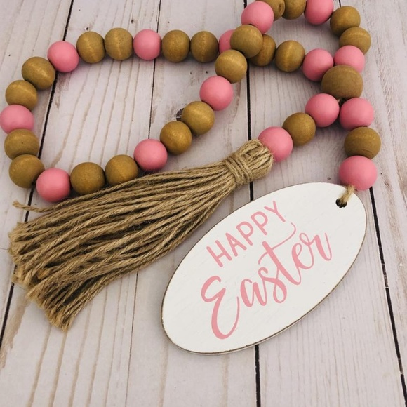 Easter Garland Decoration-Tiered Tray Decor